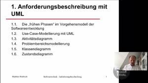 Vorschaubild - 1.4 Problembereichsmodellierung