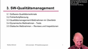 Miniaturansicht - 3.5 Statische Maßnahmen des Qualitätsmanagements