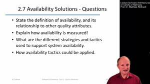 Thumbnail - 2.7 Availability Goals and Tactics