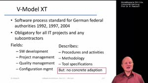 Thumbnail - 3.6.2 Architecting in V-Model XT, SCRUM