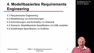 Miniaturansicht - 4.4 Szenario: Modellbasierte Spezifikation mit UML