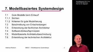 Miniaturansicht - 7.3 Entwicklung einer fachlichen Architektur