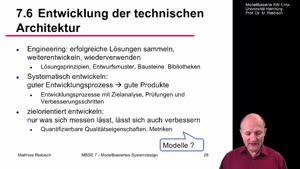 Miniaturansicht - 7.6 Entwicklung der technischen Architektur