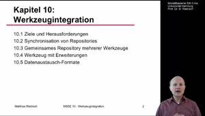Miniaturansicht - 10.1 Werkzeugintegration - Ziele und Herausforderungen