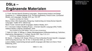 Miniaturansicht - 12.1 Domain Specific Languages DSL-1