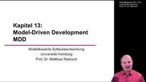 Miniaturansicht - 13.1 Model-Driven Development MDD - 1