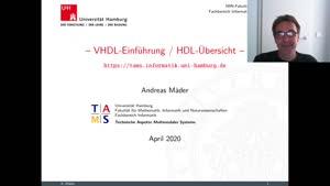 Miniaturansicht - VHDL Einführung 1