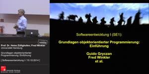 Miniaturansicht - 1 - Grundlagen objektorientierter Programmierung: Einführung