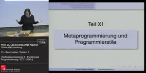Thumbnail - 13 - Metaprogrammierung und Programmierstile