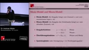 Miniaturansicht - 16 - Mealy-Modell und Moore-Modell/ Flipflops