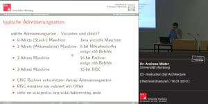 Miniaturansicht - 23 - Instruction Set Architecture