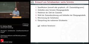 Miniaturansicht - Sitzung 16 - Schaltwerke - Schaltwerksentwurf: Ampel