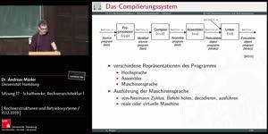 Miniaturansicht - Sitzung 17 - Schaltwerke, Rechnerarchitektur I