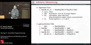 Miniaturansicht - Sitzung 21 - Assembler Programmierung