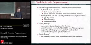 Miniaturansicht - Sitzung 22 - Assembler-Programmierung