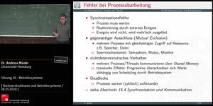 Miniaturansicht - Sitzung 26 - Betriebssysteme