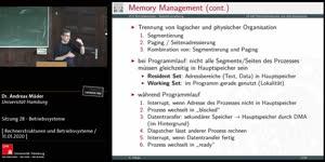 Miniaturansicht - Sitzung 28 - Betriebssysteme
