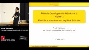 Thumbnail - 2 - Endliche Automaten und reguläre Sprachen