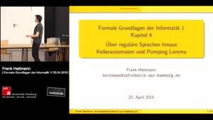Miniaturansicht - 4 - Über reguläre Sprachen hinaus - Kellerautomaten und Pumping Lemma