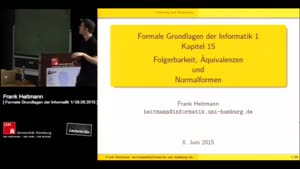 Miniaturansicht - 15 - Folgerbarkeit, Äquivalenzen und Normalformen