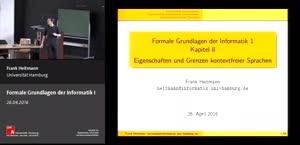 Miniaturansicht - 8 - Eigensch. & Grenzen kontexfreier Sprachen