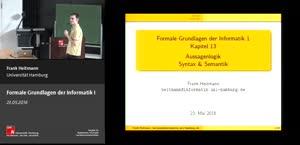 Miniaturansicht - 13 - Aussagenlogik Syntax & Semantik