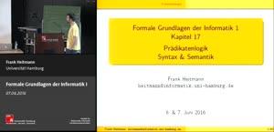 Miniaturansicht - 18 - Prädikatenlogik Syntax & SemantikTeil 2