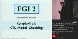 Miniaturansicht - 8 - Komplexität: CTL-Model-Checking, Petrinetze, Entwicklung