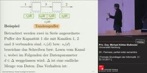 Miniaturansicht - 20 - Fairness, partial order semantics