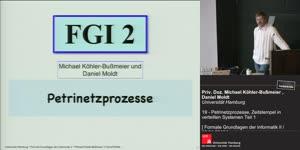 Miniaturansicht - 21 - Petrinetzprozesse, Zeitstempel in verteilten Systemen Teil 1