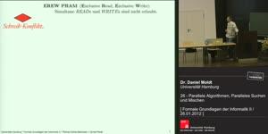 Miniaturansicht - 26 - Parallele Algorithmen, Paralleles Suchen und Mischen