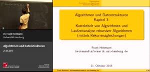 Miniaturansicht - 2 - Korrektheit von Algorithmen und Laufzeitanalyse rekursiver Algorithmen (mittels Rekurrenzgleichungen)