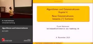 Miniaturansicht - 4 - Neue Datenstrukturen, besseres (?) Sortieren