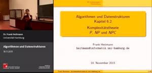 Miniaturansicht - 6 - Komplexitätstheorie: P, NP und NPC