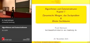 Miniaturansicht - 7 - Dynamische Mengen, das Suchproblem & Binäre Suchbäume
