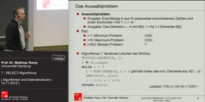 Miniaturansicht - 7 - SELECT-Algorithmus