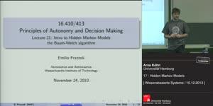 Miniaturansicht - 17 - Hidden Markov Models