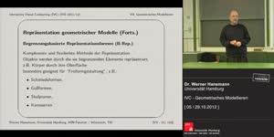 Miniaturansicht - 5 - Geometrisches Modellieren