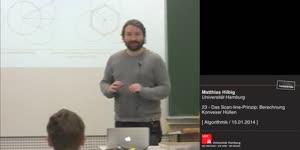 Miniaturansicht - 23 - Das Scan-line-Prinzip; Berechnung Kovexer Hüllen