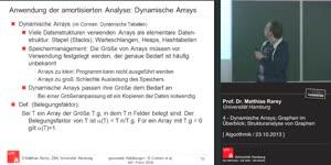 Miniaturansicht - 04 - Dynamische Arrays; Graphen im Überblick; Strukturanalyse von Graphen