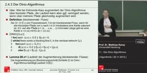 Miniaturansicht - 11 - Der Dinic Algorithmus