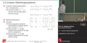 Miniaturansicht - 21 - Lineare Gleichungssyteme und ihre Programmierung