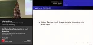 Thumbnail - Aussagenlogik in Coq Teil 2 und Formalisierung durch Prädikatenlogik