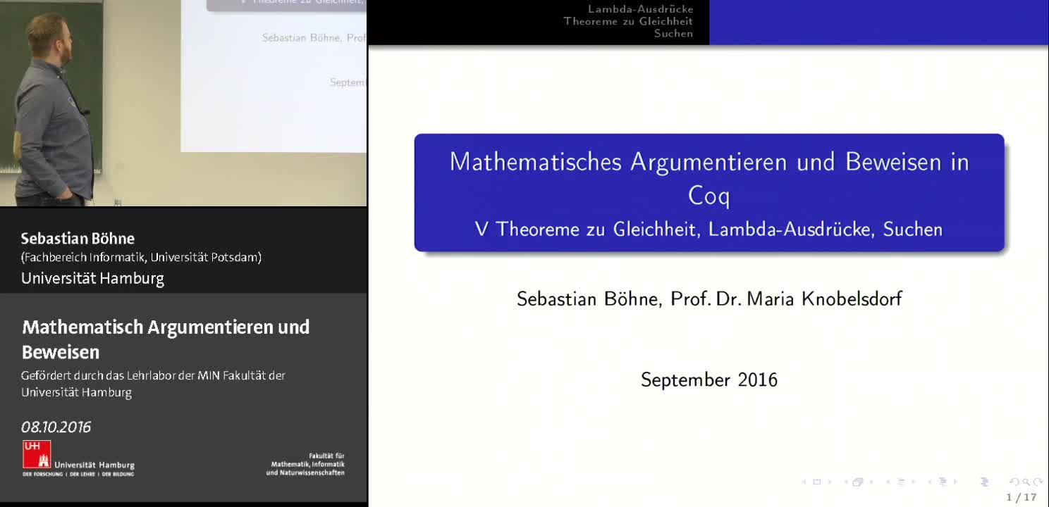 Thumbnail - Theoreme zu Gleichheit, Lambda-Ausdrücke, Suchen