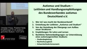 Miniaturansicht - 10 - Ideen und Empfehlungen des Deutschen Autismusinstituts des Bundesverbandes autismus Deutschland e.V. für ein autismusgerechtes Studium
