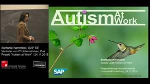 """Miniaturansicht - 6 - Vertreter von IT-Unternehmen: Das Projekt """"Autism at Work"""""""