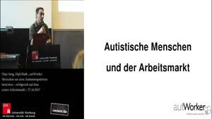 Miniaturansicht - 2 - Menschen aus dem Autismusspektrum berichten - erfolgreich auf dem ersten Arbeitsmarkt