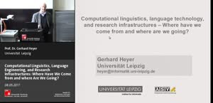Miniaturansicht - 4 - Computational linguistics, language technology and research infrastructures