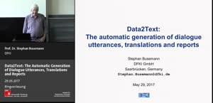 Miniaturansicht - 5 - The automatic generation of dialogue utterances, translations and reports