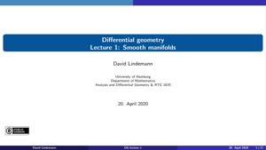 Miniaturansicht - Lecture 1: Smooth manifolds